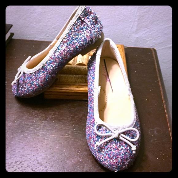 3aa23a7c28a8 Cat & Jack Shoes | Cat Jack Sparkly Ballet Target | Poshmark